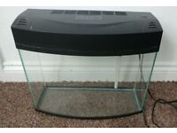 20L Aquarium Fish Tank - Light and Filter