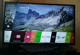 LG 49 inch 4K Ultra HD HDR LED TV 49UH620V with built-in WIFI, quad core processor