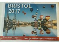 Bristol 2017 Calendars for sale (bulk purchase of 57 units)