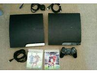 Playstation 3 slim 2 consoles