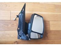 Genuine Ford Transit Custom (13 on) RH Drivers Side Wing Door Mirror Unit