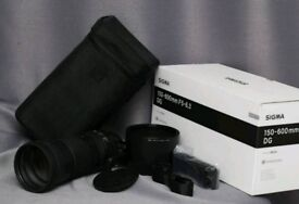 Sigma 150-600mm F/5-6.3 DG HSM Contemporary Zoom Lens for Canon
