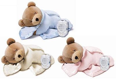 Prince Lionheart Original Slumber Womb Sound Teddy Bear Silkie Blanket - 75833