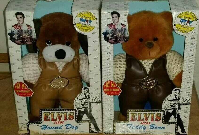 Elvis Presley singing Hound Dog and teddy bear   in Bradford, West Yorkshire   Gumtree
