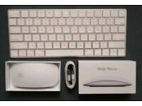 Apple Magic Keyboard and Magic mouse 2