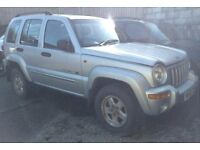 Jeep Cherokee 2.5CRD - Manual - Starts & Drives but needs slight attention to engine