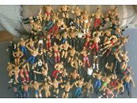 Assorted wrestling figures bundle