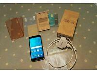 Samsung Galaxy S5 phone + extras