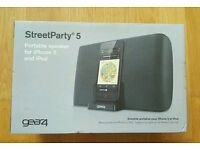 (BRAND NEW) Gear 4 StreetParty 5 Charging Dock - iPhone 5, iPod 5th & 6th gen