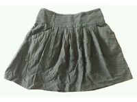 Casual Fat Face Skirt - Size 10 Black