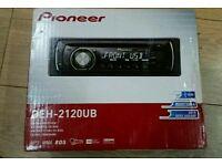 Sony mp3 - fm & usb disc player in box