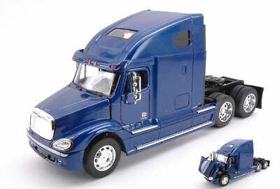 Camion Freightliner Columbia Metallic Blue Camion Truck 1:32 Model WELLY