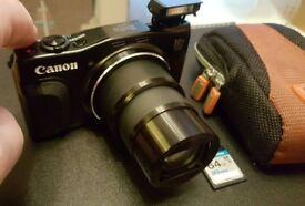 Canon PowerShot SX 710 HS 20.3MP powerful compact camera Wifi GPS 64gb sd RRP: £380