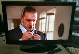 "SAMSUNG 32"" LCD TV FULL HD BUILT IN FREEVIEW EXCELLENT CONDITION REMOTE CONTROL HDMI FULLY WORKING"