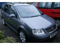 Volkswagen Touran 2006 1.9 SE *New timing belt MOT Sept 18
