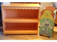 Vertbaudet Bookcase and Animal Boxes