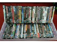 Dvd's for sale. Job lot of 73. £20