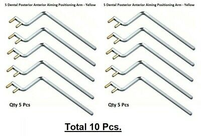 10 Dental Xcp Posterior Metal Indicator Arm X-ray Positioning Arm - Yellow