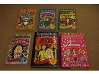 Jacqueline Wilson Books x 6 set B