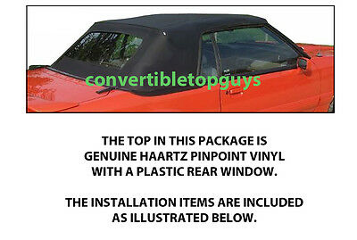 FORD MUSTANG CONVERTIBLE TOP-DO IT YOURSELF PKG 1983-1990