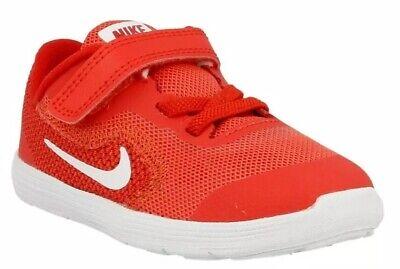 NEW Nike Revolution 3 (TDV) Toddler Girl Shoes Sneaker Red 819415 601 Sz 8c $44