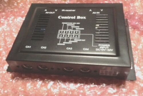 SAFETY VISION 4 CAMERA CHANNEL VIDEO SWITCHER CONTROL BOX SV-4CCB70 10-32V AV