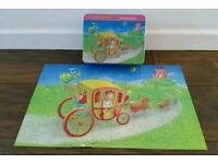 Girls Fairy Tales Jigsaw /Toy. 5 Years and Up.