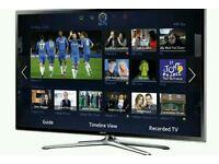 "Samsung 60"" smart 3D wi-fi tv builtin HD freeview fullhd 1080p"