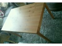 Ikea Jokkmokk dining table