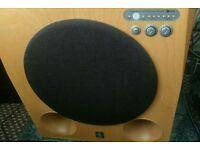 Yamaha soavo 900sw remote home cinema stereo subwoofer bass speaker