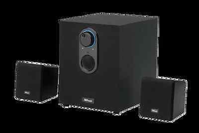 TRUST 15418 ALTAVOCES CUBO 2.1 Speaker Set c/ subwoofer - 15 vatios