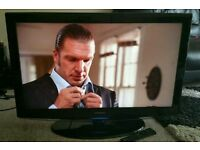 "SAMSUNG 32"" LCD 1080p Full HD TV. Built in Freeview Excellent Condition Fully Working with Remote"