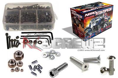 007 Stainless Steel Case - RCScrewZ - Traxxas Nitro Stampede Stainless Steel Screw