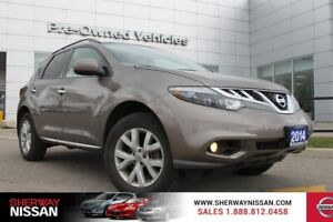 2014 Nissan Murano SL Awd,one owner accident free trade. Nissan