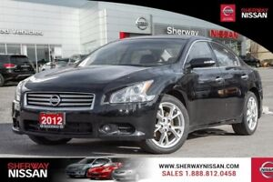 2012  Maxima 4dr Sdn CVT 3.5 SV,one owner accident free trade!