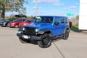 2015 Jeep Wrangler Unlimited SportWILLY'S EDITION 4X4 6 SPD MANU