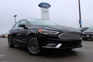 2018 Ford Fusion Hybrid Titanium  ONLY 4 HERE -SAVE OVER $13000