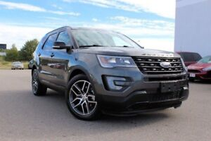 2017 Ford Explorer Sport/4WD/ 2.5L V6 ENG/ TWIN PANEL MOONROOF/