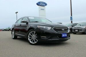 2018 Ford Taurus Limited BLACK ON BLACK AND EVERY OPTION ON THIS