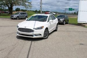 2017 Ford Fusion SELEATHER/ MOONROOF/ NAVIGATION!! ONLY 19906KMS