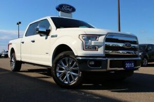 2015 Ford F-150 LariatSUPERCREW, TWIN PANEL MOONROOF