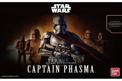 Star Wars Plastic Model Kit 1/12 CAPTAIN PHASMA Bandai Japan NEW **