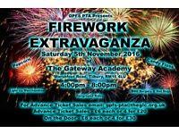 Gateway primary free school Fireworks extravaganza