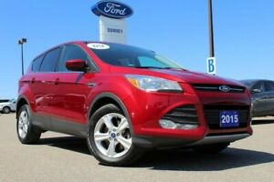 2015 Ford Escape SE ONE OWNER LOCAL SUV FOR ONLY $67/WEEK+TAX!!!