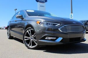 2018 Ford Fusion Titanium TOP OF THE FOOD CHAIN IN THIS CAR! MAK