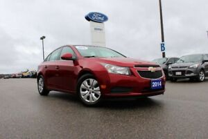2014 Chevrolet Cruze 1LT ONE OWNER CAR DRIVEN BY LITTLE OLD LADY