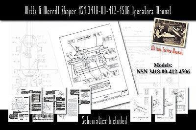 ATLAS No 73 Drill Press Owner/'s Operator/'s /& Parts Manual 0898
