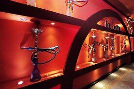 An Experienced Shisha and Ice ream/Desert Maker for my Shisha and Desert Lounge.