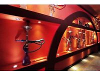 An Experienced Shisha and Ice ream/Desert Maker for my Shisha and Desert Lounge.