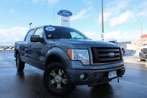 2010 Ford F-150 FX4 AS TRADED--NO FINANCE----ONE OWNER TRUCK WIT